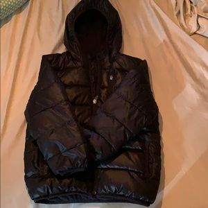 Perfect condition boys black puffer coat